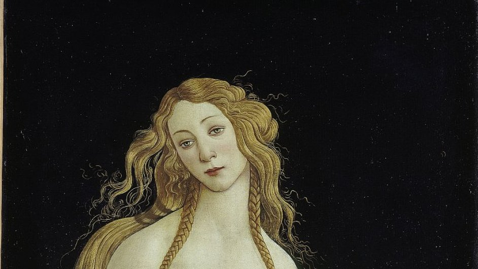 Reprodukce z výstavy Botticelli Reimagined