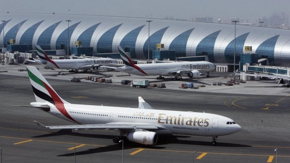 Letadla Emirates