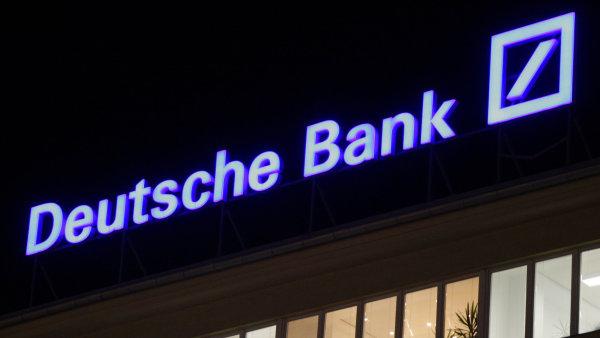 Deutsche Bank za lo�sk� rok za�il rekordn� ztr�tu.
