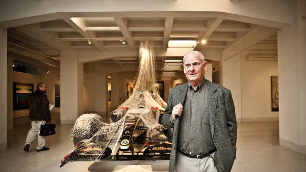Ve Veletržním paláci v září 2012 při zahájení velké retrospektivní výstavy nazvané Theodor Pištěk: Ecce Homo.