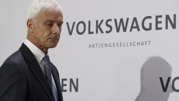 Šéf automobilky Volkswagen Matthias Müller
