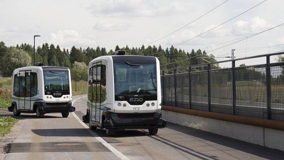 citymobil elektrobus bez řidiče