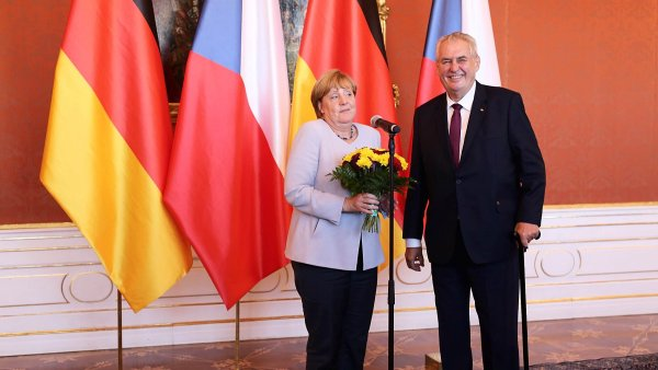 Merkelová má k Česku zvlášť blízký vztah.