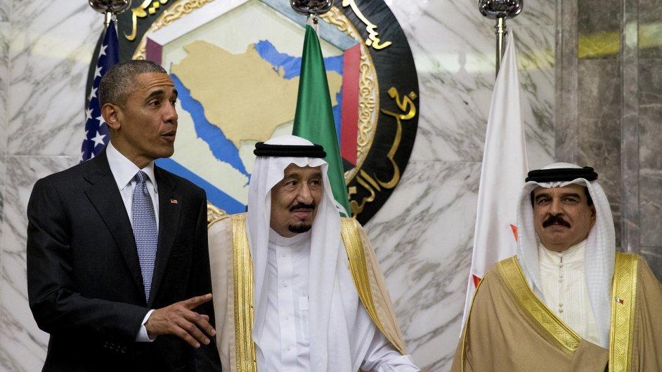 Obama Saúdská Arábie