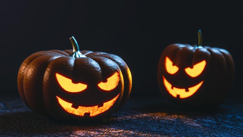 Halloween původně pochází z Irska, slaví se poslední říjnový den.