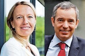 Marcela Suchánková a Jan Sadil doplní od ledna představenstvo skupiny ČSOB