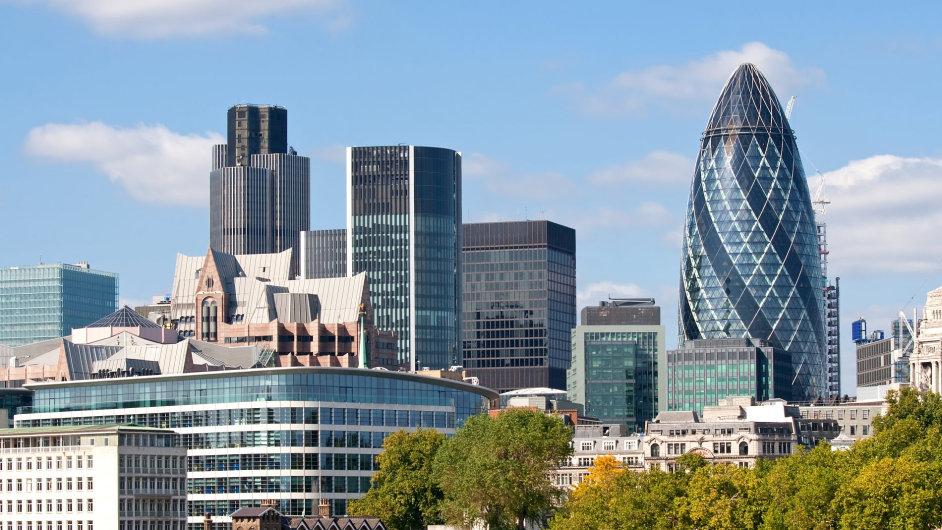 Okurka, Londýn, mrakodrap, City, Gharkin