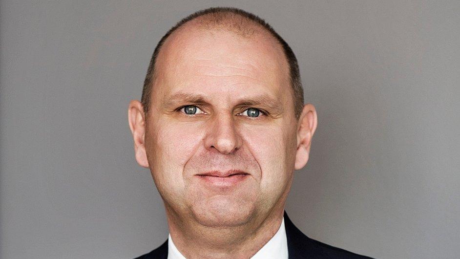 Radek Hrdlička, ředitel firemní klientely UniCredit Bank