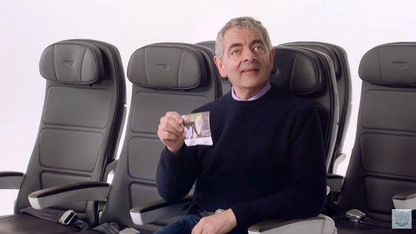 Rowan Atkinson v instruktážním videu British Airways