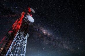 Telekomunikace, ilustrační foto