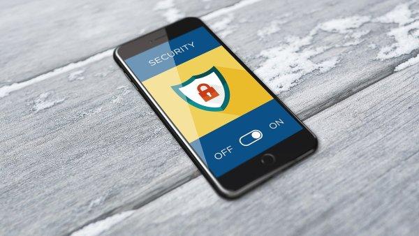 Mobilní telefon, bezpečná data