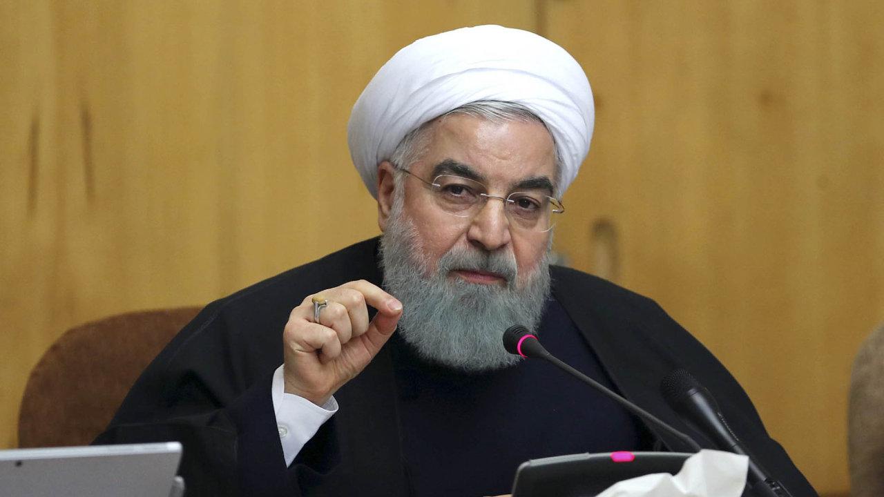 Pochyby o schopnosti Evropanů zachovat dohodu při životě vyjádřil i íránský prezident Hasan Rúhání.