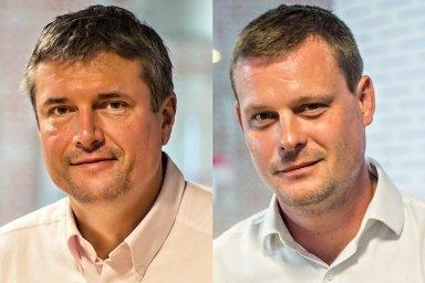 Marek Tomčík a Karel Šultes, vedení společnosti Home Credit