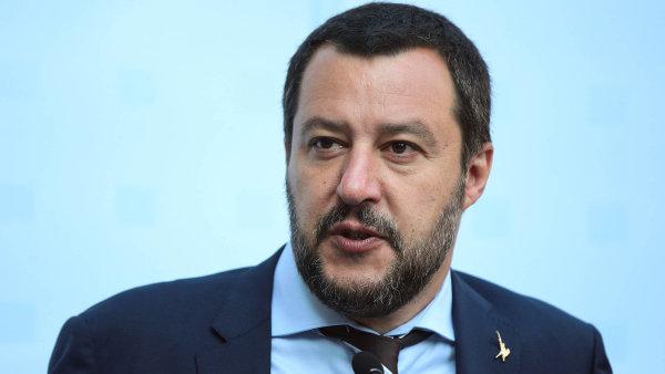 Matteo Salvini oznámil návrh na tiskové konferenci v Moskvě.