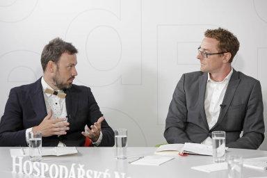 Zleva: Michal Čejka, Šance pro budovy a Filip Dvořák, BASF.