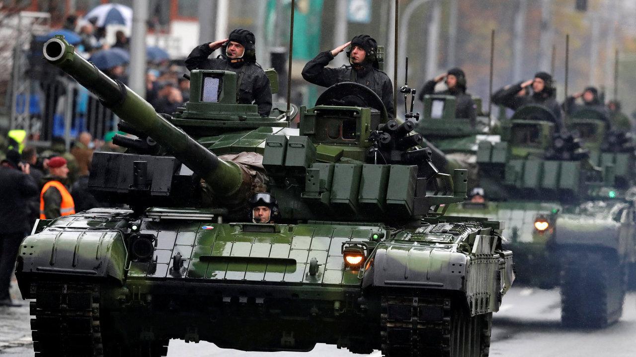 tank, Česko, armáda, oslavy
