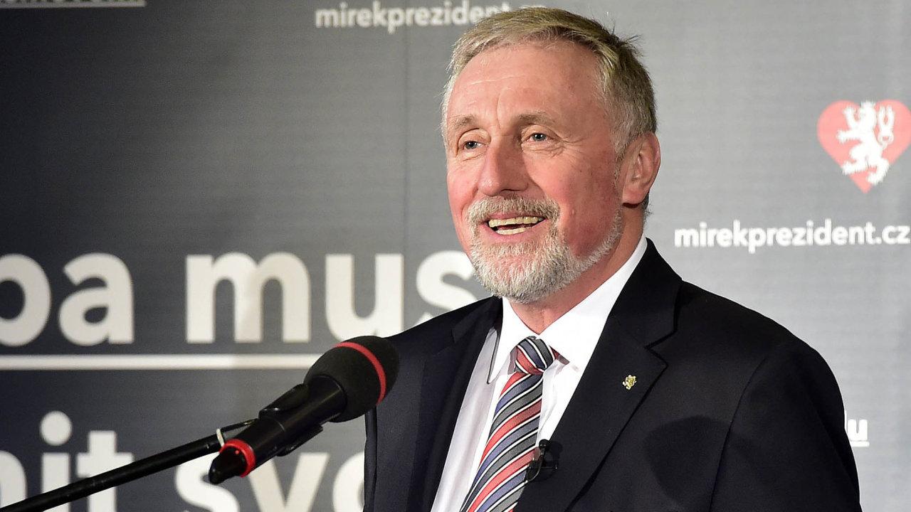 Bývalý premiér Mirek Topolánek