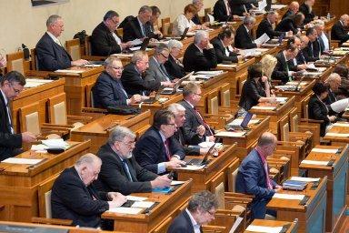 Jednání Senátu – iustrační foto.