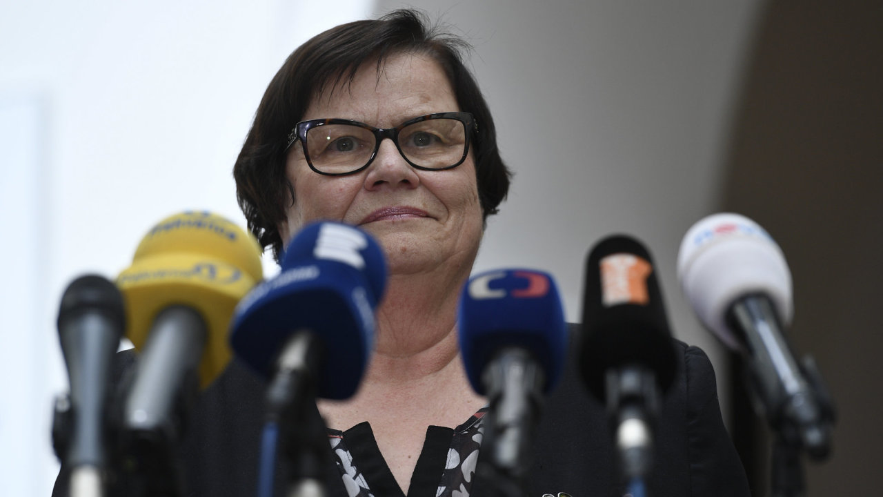 Ministryně spravedlnosti Marie Benešová.
