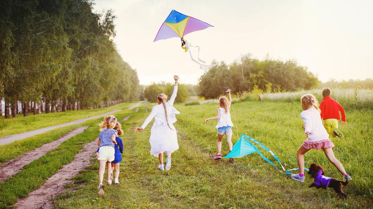 Proti izolaci: Centra pomáhají rodičům mimo jiné vtom, aby se ponarození dítěte necítili sami.