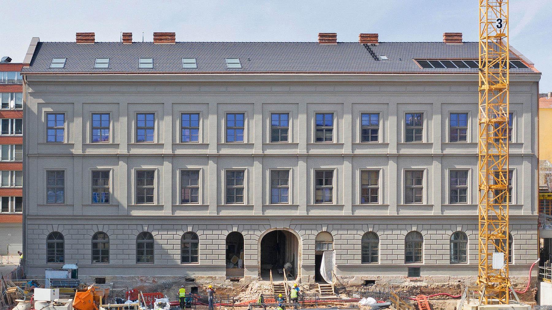 VBrně skončila oprava Bochnerova paláce