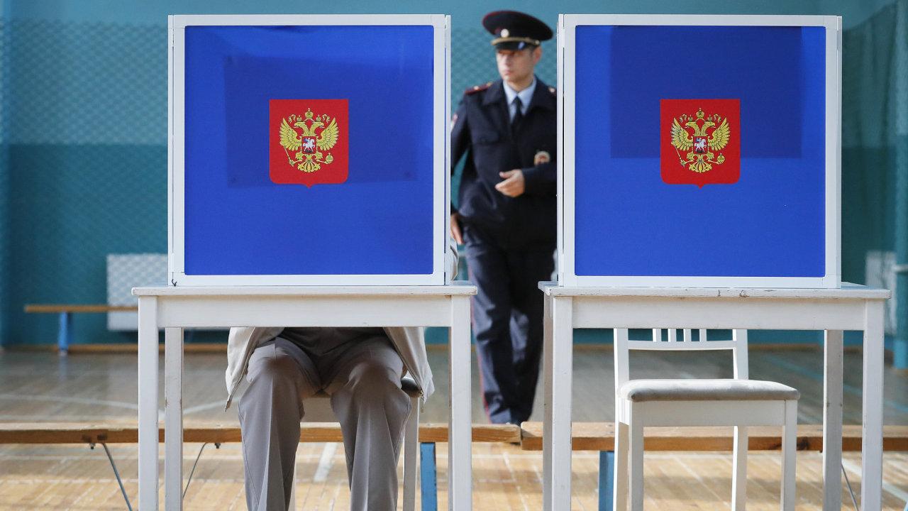 Rusko Moskva volby