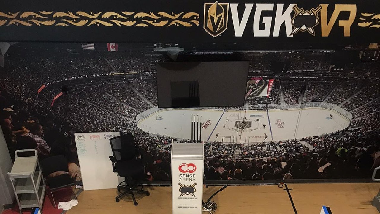 Instalace systému Sense Arena pro Vegas Golden Knights