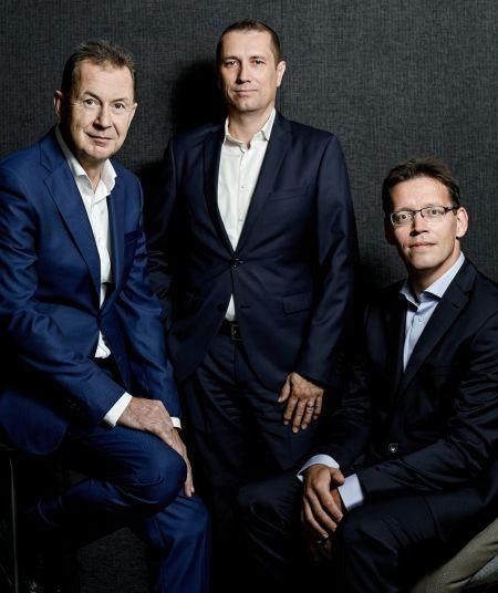 Jiří Krátký, Pavel Vrba a Bohumil Čapek tvoří  tým expertů na průmysl 4.0 společnosti KPMG