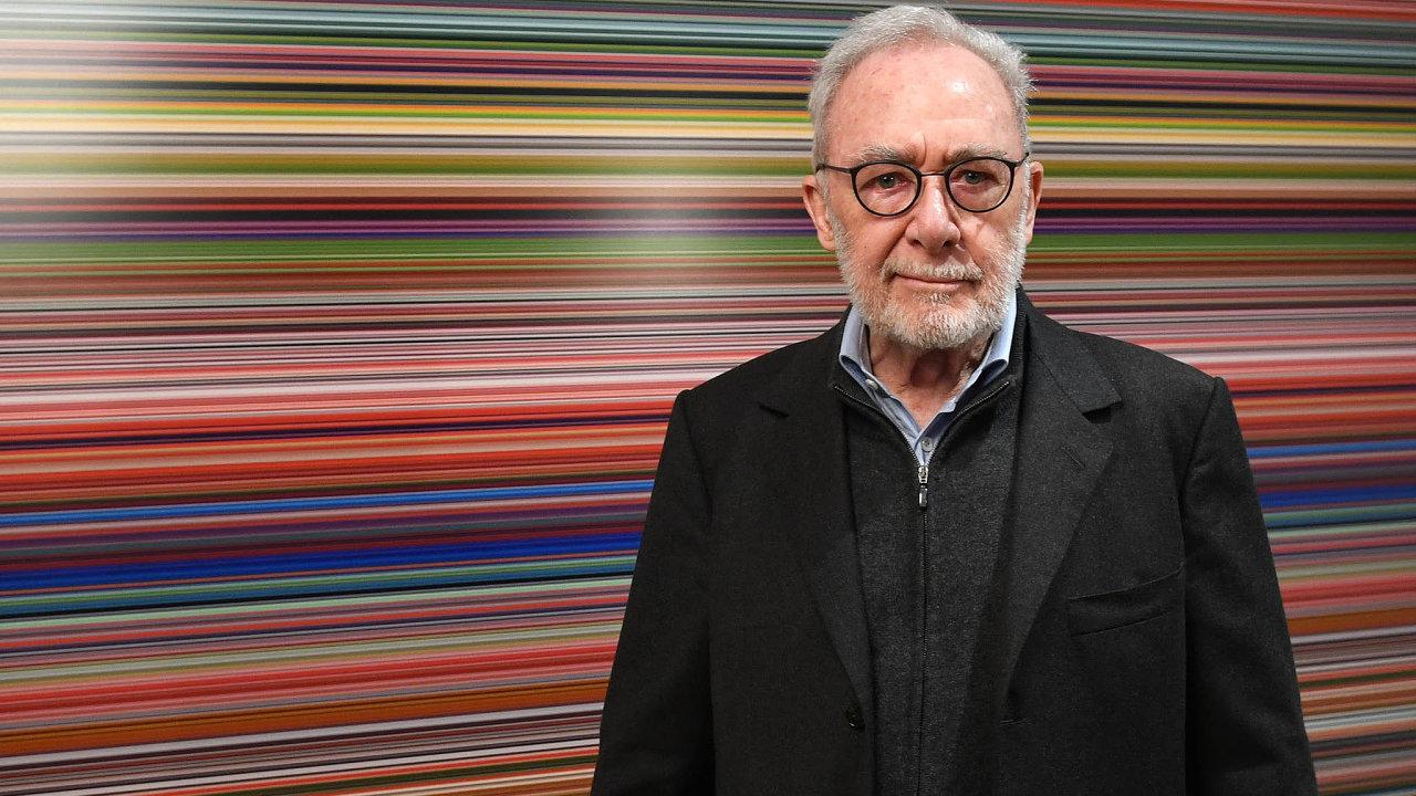 Gerhard Richter byl po několik let nejdražším žijícím výtvarníkem.