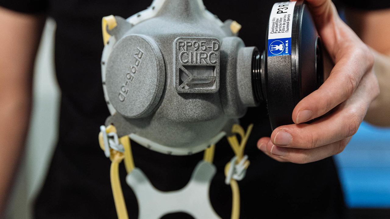 Sigma– firma zOlomoucka se zabývá hlavně výrobou čerpadel. Ministerstvu dodá dopůlky září 187 tisíc ochranných filtrů.