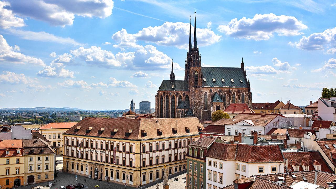 Jihomoravská metropole Brno.