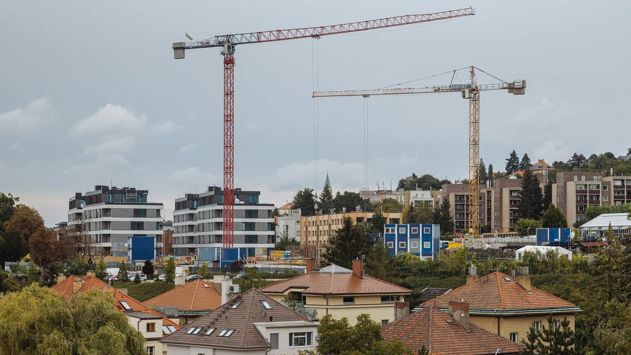 Nové byty v Praze na konci dubna zdražily o 8,4 pct. na 125 400 Kč za metr čtvereční.