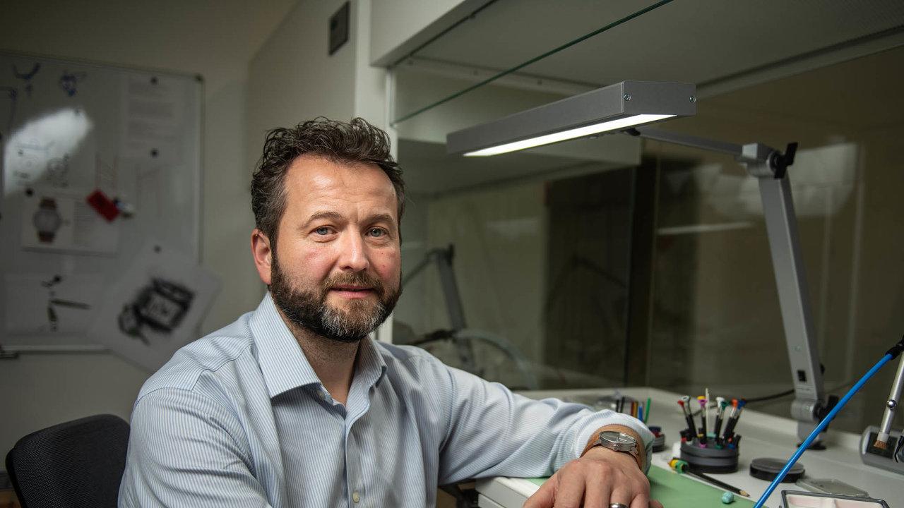 Podnikatel Josef Zajíček.