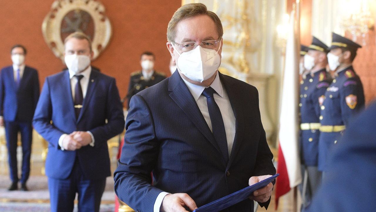 Nový ministr zdravotnictví Petr Arenberger.