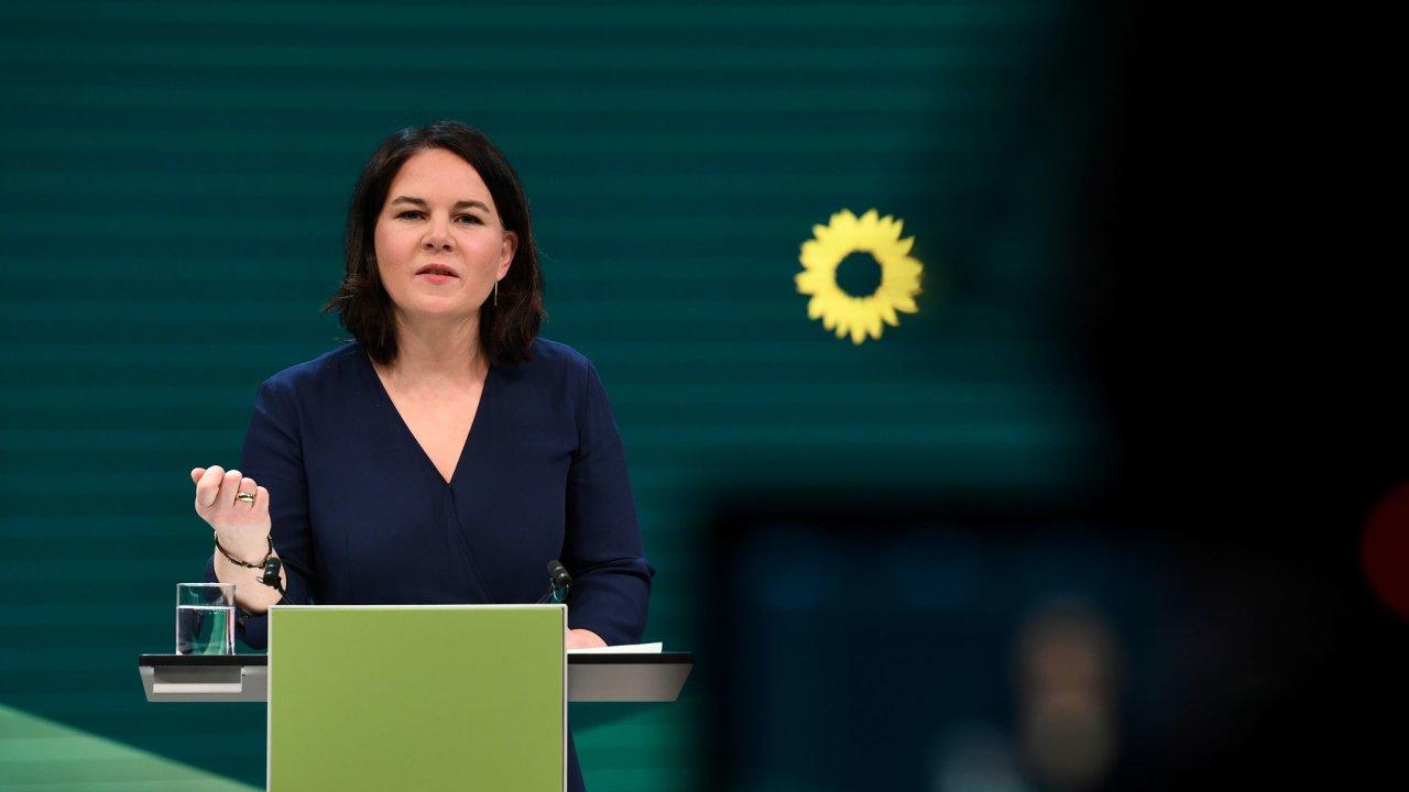 Annalena Baerbocková, kancléřská kandidátka německých Zelených