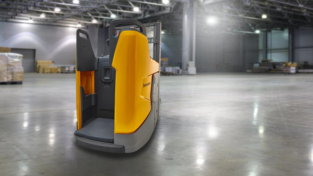 Elektrický ručně vedený vozík ERD 220i vítězí v soutěži Red Dot Award.