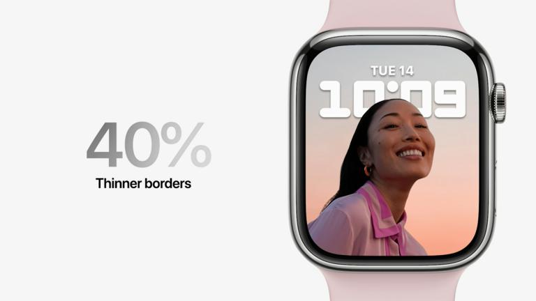 Apple Watch mají menší rámeček, uvnitř ale nejsou nové senzory ani čip
