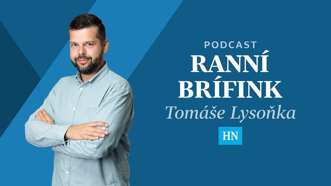 Ranní brífink Tomáše Lysoňka.