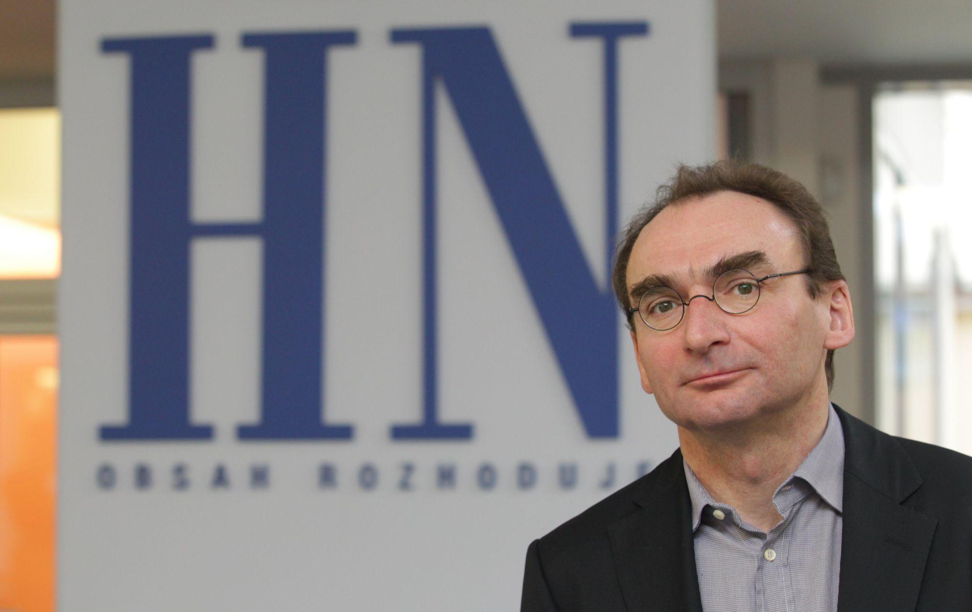 Novinář Petr Šabata dříve vedl také Hospodářské noviny