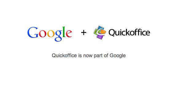 Google kupuje firmu Quickoffice