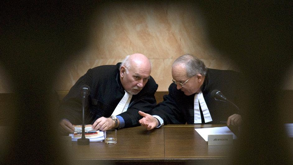 Pavel Rychetský, Jiří Nykodým, Ústavní soud