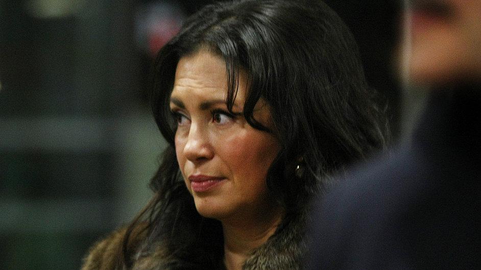 Neúspěšná kandidátka na prezidentku Jana Bobošíková.