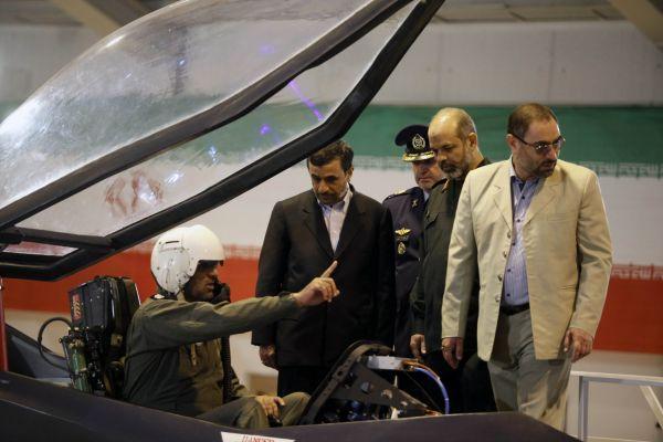 Íránská stíhačka Káhir-313