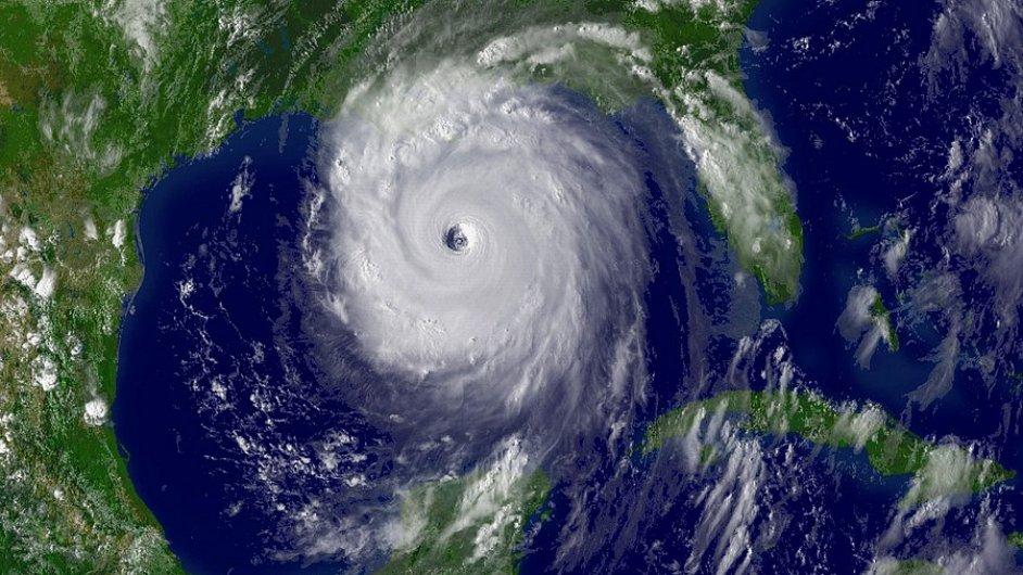 Tropická bouře. Ilustrační foto
