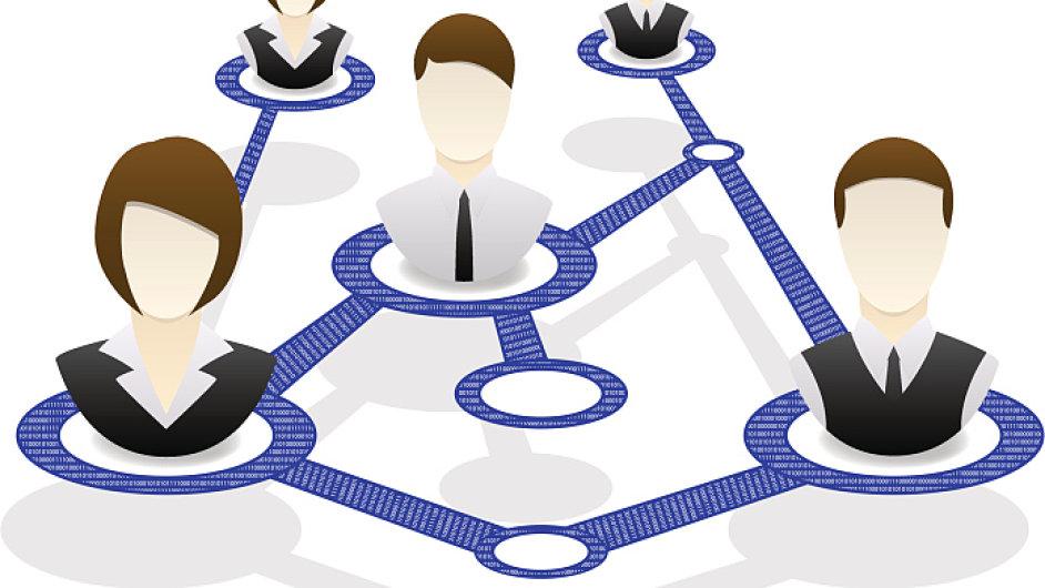 Obchodní vztahy, vazby. Ilustrační foto