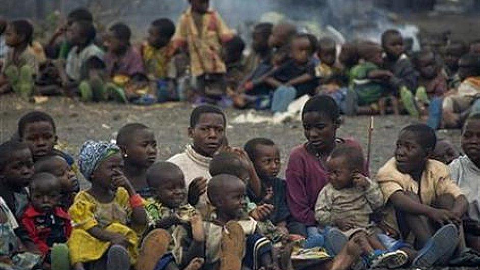 Konžské děti označené jako čarodějníci