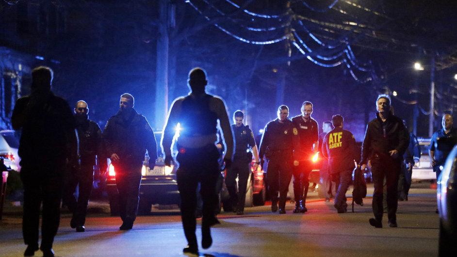 Bostonský policejní zákrok