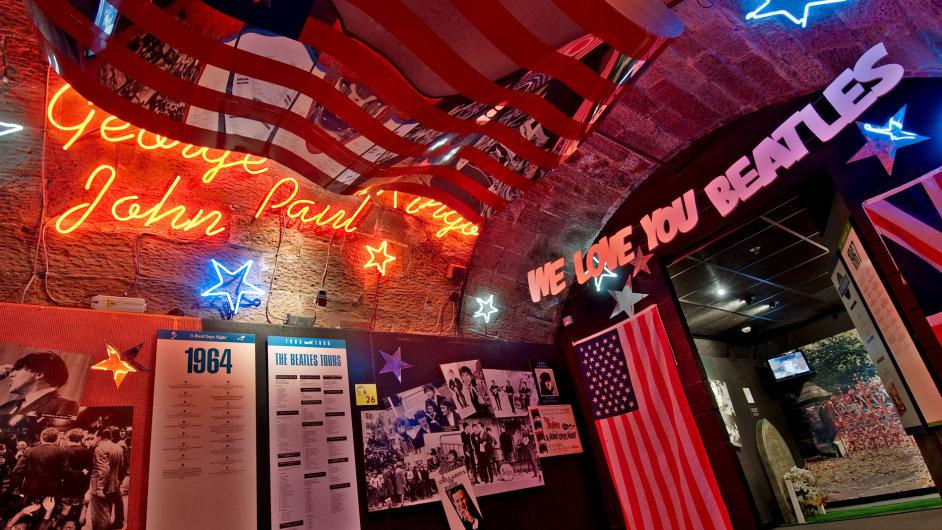 Muzeum The Beatles Story mapuje život nejslavnější čtveřice z Liverpoolu.