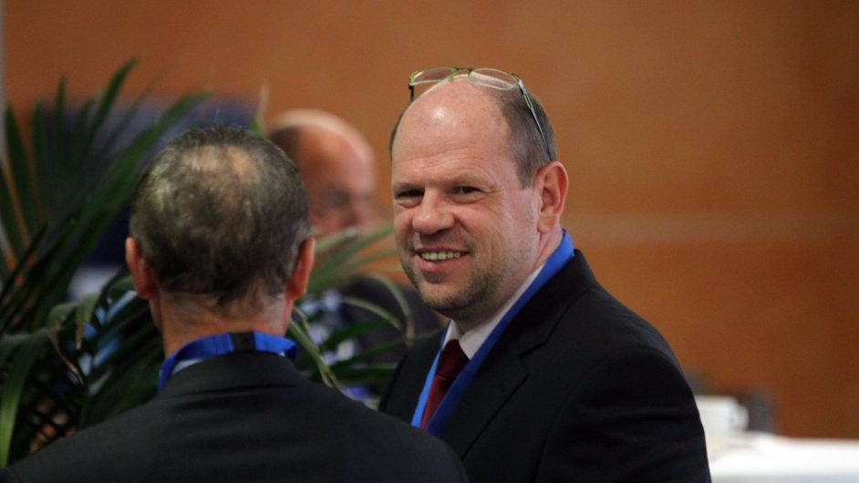 Končící šéf Hospodářské komory Petr Kužel