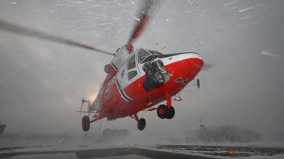 Polský vrtulník Sokol